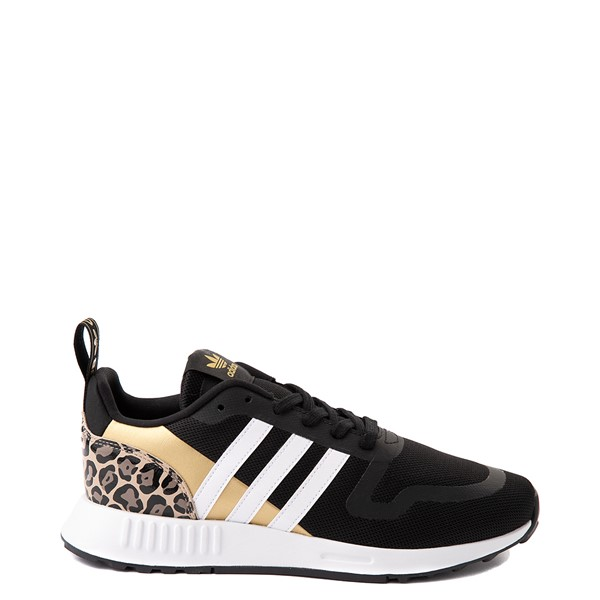 Womens adidas Multix Athletic Shoe - Black / Gold / Leopard