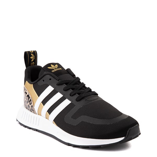 alternate view Womens adidas Multix Athletic Shoe - Black / Gold / LeopardALT5