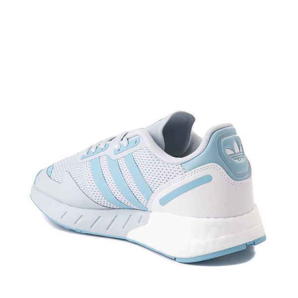 alternate view Womens adidas ZX 1K Boost Athletic Shoe - Halo BlueALT1