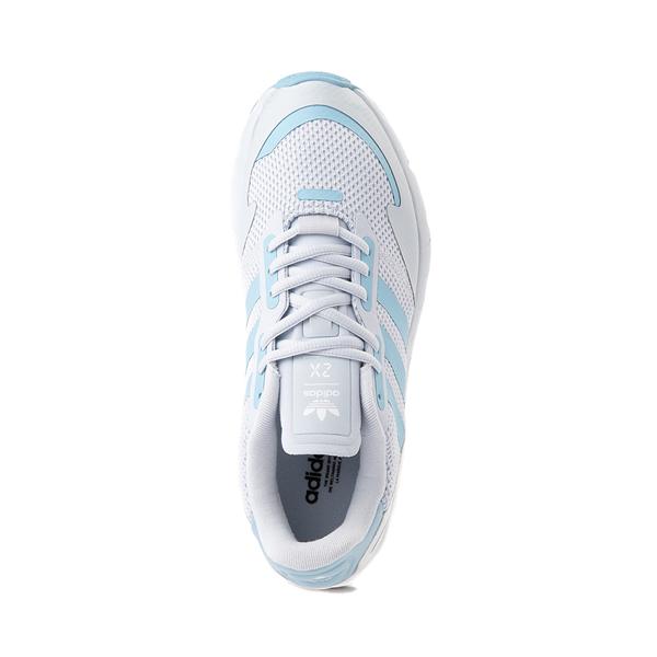 alternate view Womens adidas ZX 1K Boost Athletic Shoe - Halo BlueALT2