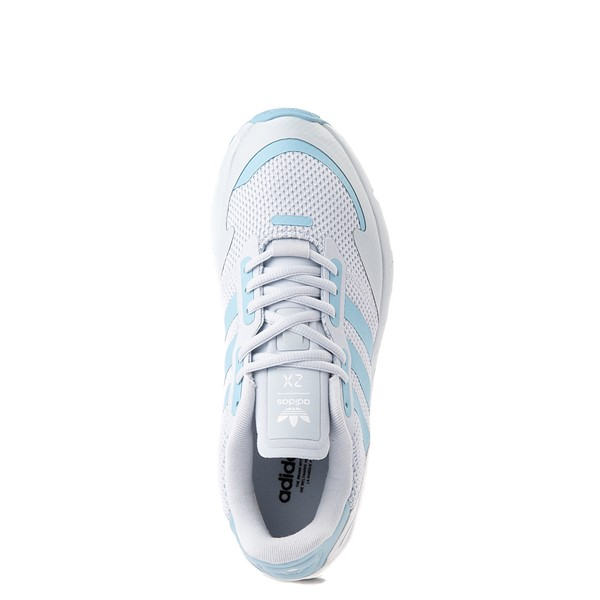 alternate view Womens adidas ZX 1K Boost Athletic Shoe - Halo BlueALT4B