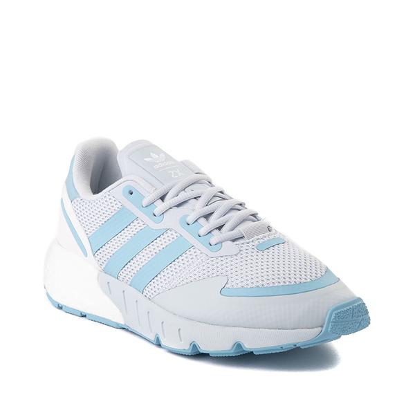 alternate view Womens adidas ZX 1K Boost Athletic Shoe - Halo BlueALT5