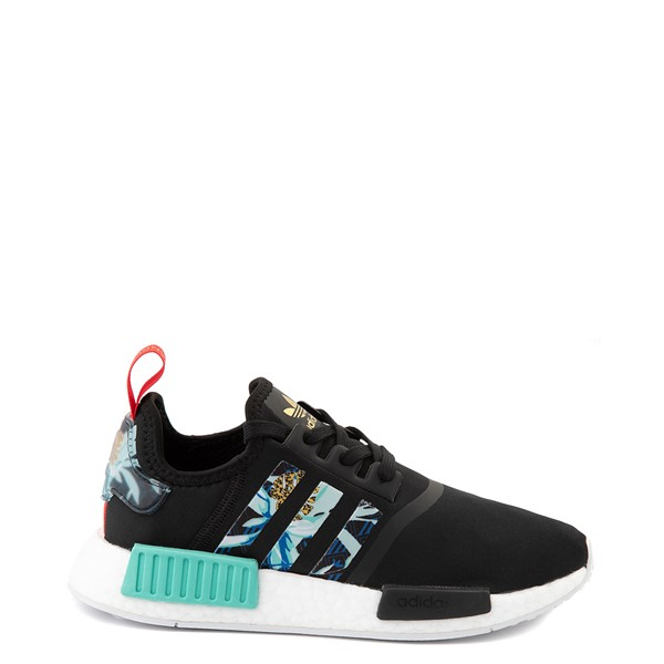Main view of Womens adidas NMD R1 Her Studio Athletic Shoe - Black / Floral