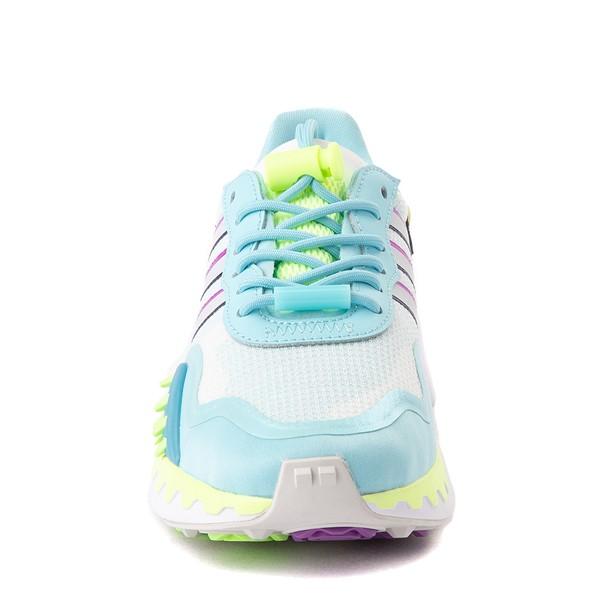 alternate view Womens adidas Choigo Athletic Shoe - Hazy Sky / Hi-Res YellowALT4