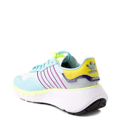 Alternate view of Womens adidas Choigo Athletic Shoe - Hazy Sky / Hi-Res Yellow