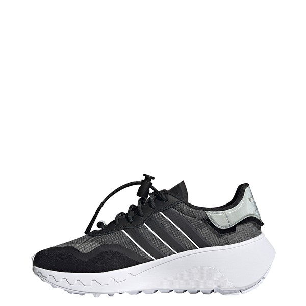 alternate view Womens adidas Choigo Athletic Shoe - Black / GrayALT1