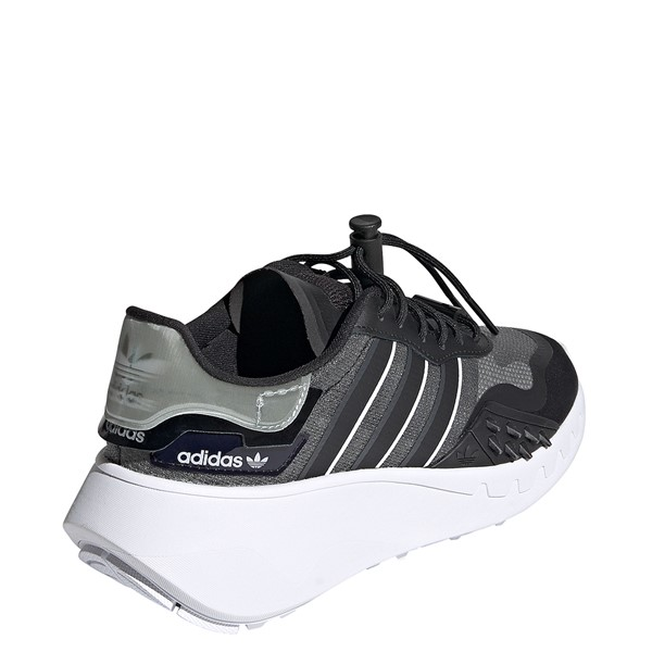 alternate view Womens adidas Choigo Athletic Shoe - Black / GrayALT4