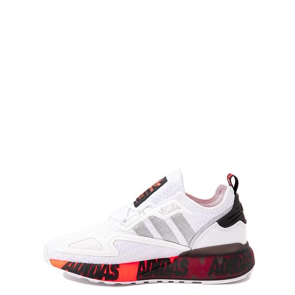 alternate view adidas ZX 2K Boost Athletic Shoe - Big Kid - WhiteALT1B