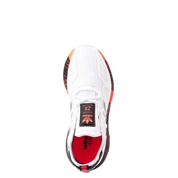alternate view adidas ZX 2K Boost Athletic Shoe - Big Kid - WhiteALT2