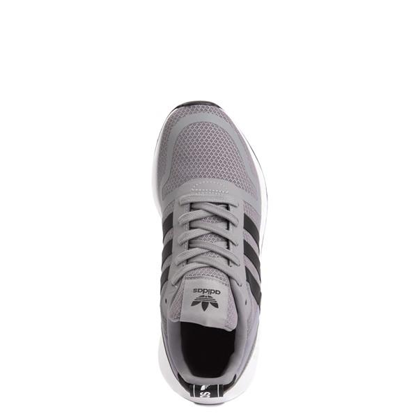 alternate view adidas Multix Athletic Shoe - Big Kid - GrayALT4B