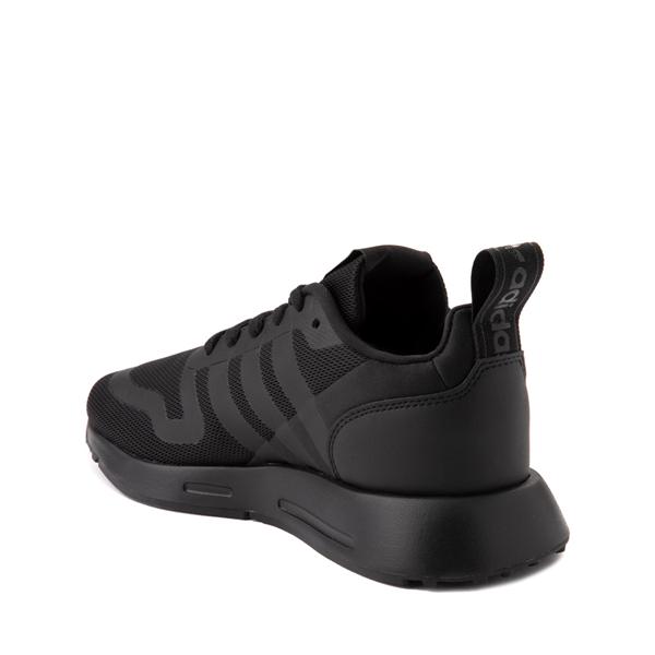 alternate view adidas Multix Athletic Shoe - Big Kid - Black MonochromeALT1