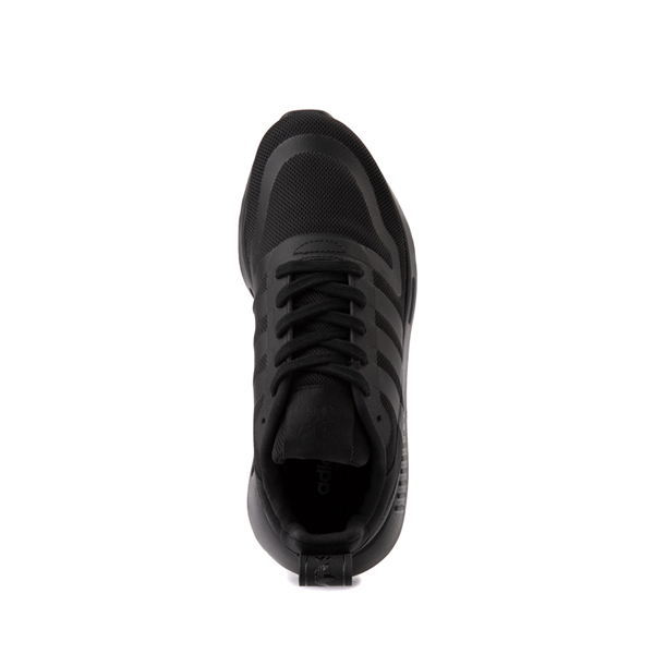 alternate view adidas Multix Athletic Shoe - Big Kid - Black MonochromeALT2