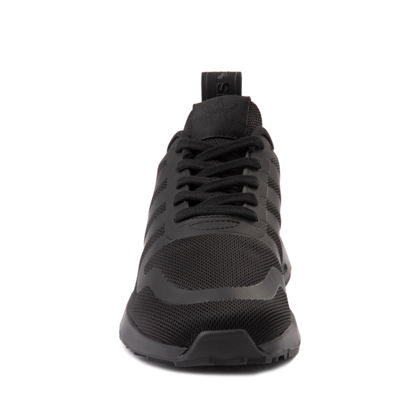alternate view adidas Multix Athletic Shoe - Big Kid - Black MonochromeALT4