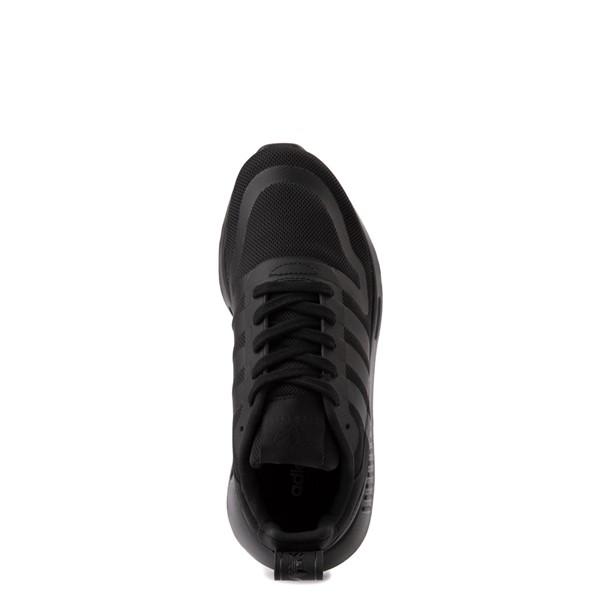 alternate view adidas Multix Athletic Shoe - Big Kid - Black MonochromeALT4B