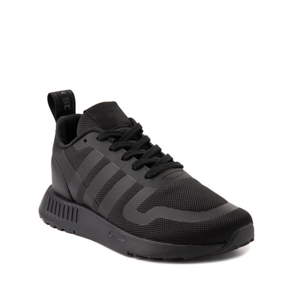 alternate view adidas Multix Athletic Shoe - Big Kid - Black MonochromeALT5