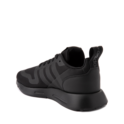 Alternate view of adidas Multix Athletic Shoe - Big Kid - Black Monochrome