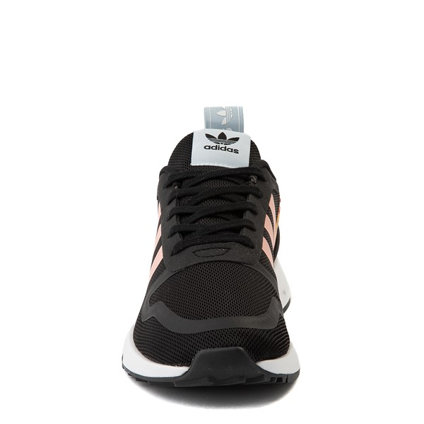 alternate view adidas Multix Athletic Shoe - Big Kid - Black / FloralALT4