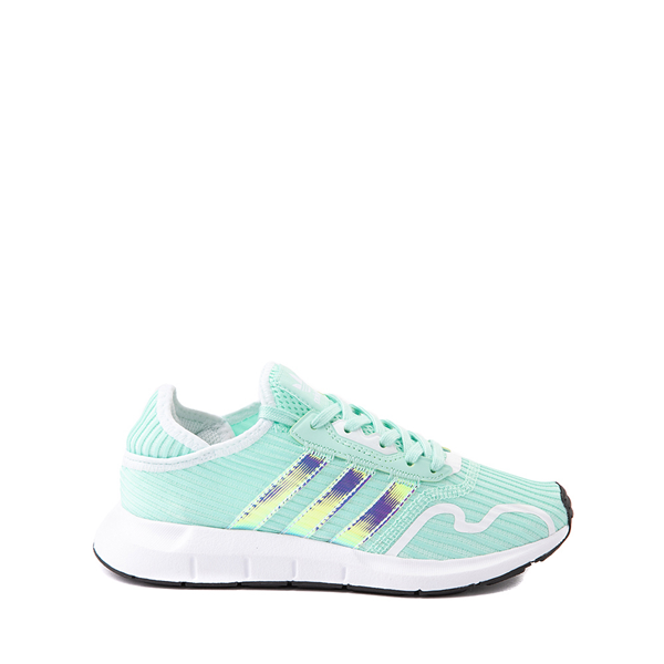 adidas Swift Run X Athletic Shoe - Big Kid - Mint / Iridescent