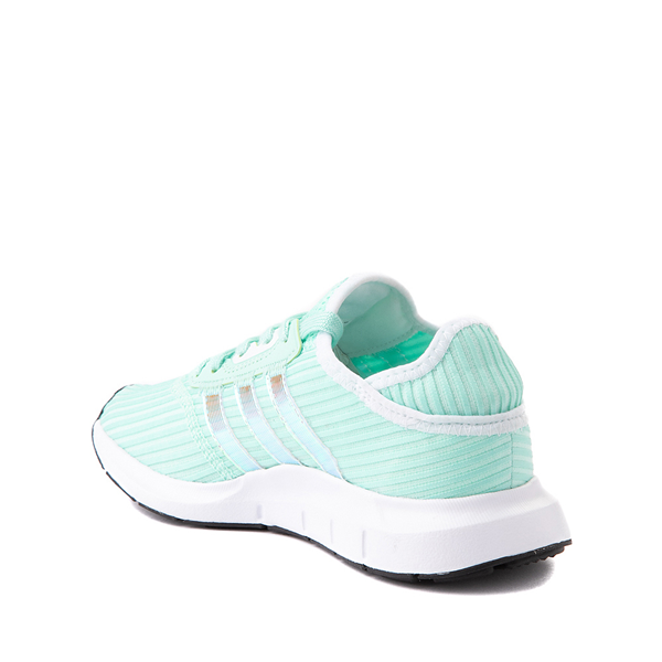 alternate view adidas Swift Run X Athletic Shoe - Big Kid - Mint / IridescentALT1B