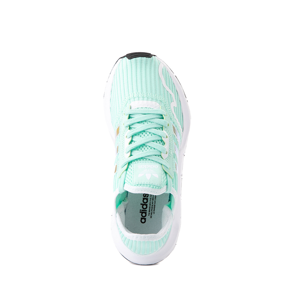 alternate view adidas Swift Run X Athletic Shoe - Big Kid - Mint / IridescentALT2