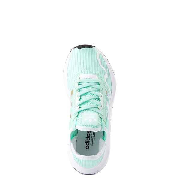 alternate view adidas Swift Run X Athletic Shoe - Big Kid - Mint / IridescentALT4B