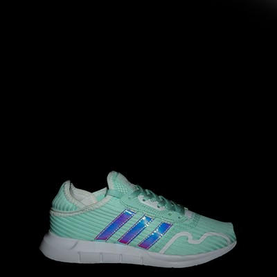 Alternate view of adidas Swift Run X Athletic Shoe - Big Kid - Mint / Iridescent