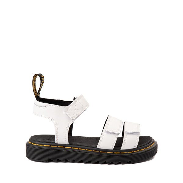 Main view of Dr. Martens Klaire Sandal - Little Kid / Big Kid - White