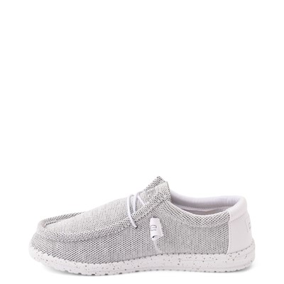 Alternate view of Womens Hey Dude Wendy Sox Slip On Casual Shoe - White