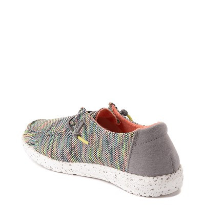 Alternate view of Womens Hey Dude Wendy Sox Slip On Casual Shoe - Pink Peacock
