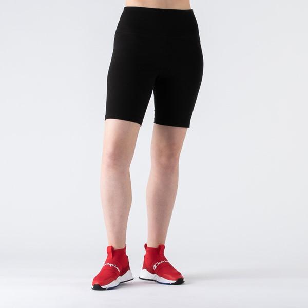 alternate view Womens Champion Everyday Bike Shorts - BlackALT4