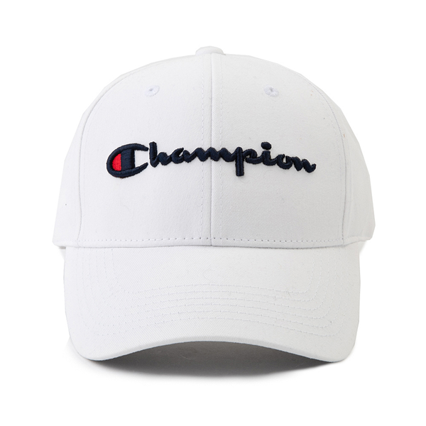 Champion Classic Twill Dad Hat - White