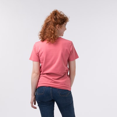 Alternate view of Womens adidas Trefoil Tee - Hazy Rose