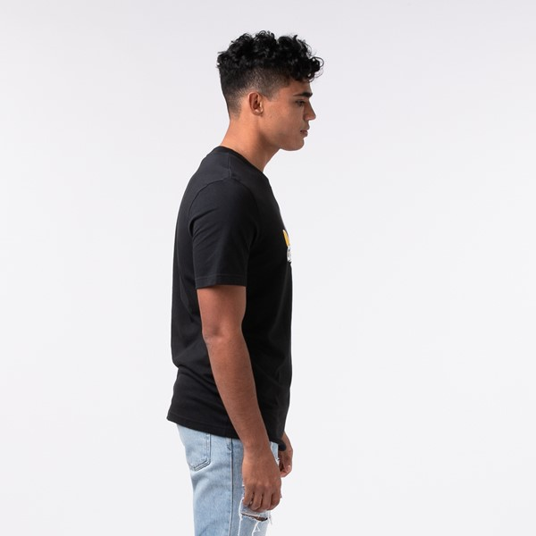 alternate view Mens adidas Trefoil Sport Graphic Tee - Black / MultiALT2