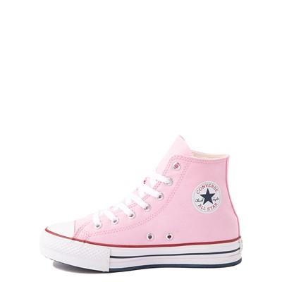 Alternate view of Converse Chuck Taylor All Star Hi Platform Sneaker - Little Kid / Big Kid - Pink Glaze