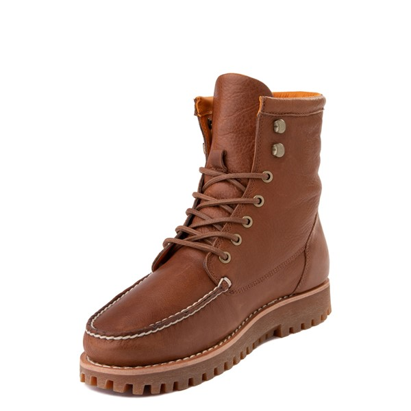 alternate view Mens Timberland Jackson's Landing Boot - Saddle BrownALT2