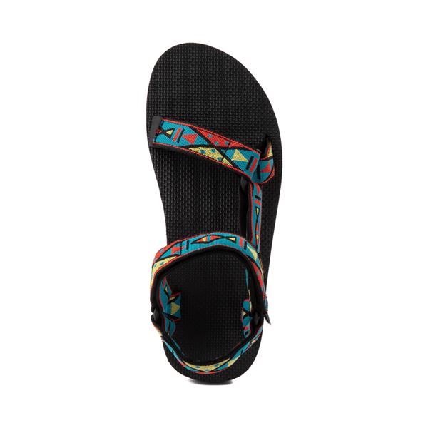 alternate view Mens Teva Original Universal Sandal - Black / Geometric PrintALT2