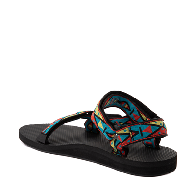 Alternate view of Mens Teva Original Universal Sandal - Black / Geometric Print
