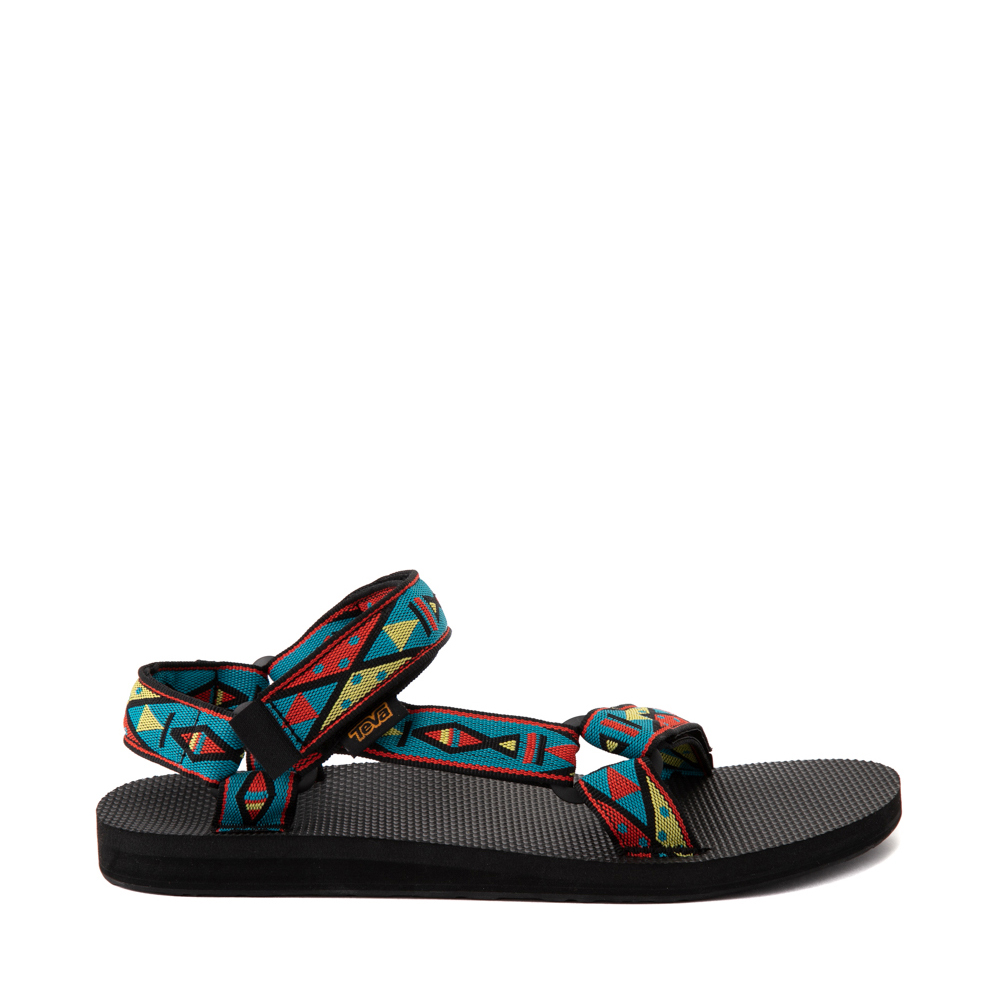 Mens Teva Original Universal Sandal - Black / Geometric Print