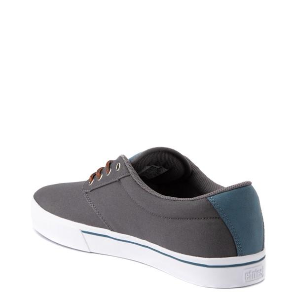 alternate view Mens etnies Jameson 2 Eco Skate Shoe - Gray / BlueALT1