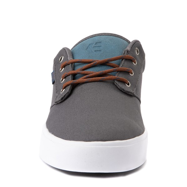 alternate view Mens etnies Jameson 2 Eco Skate Shoe - Gray / BlueALT4