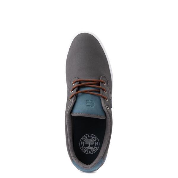 alternate view Mens etnies Jameson 2 Eco Skate Shoe - Gray / BlueALT4B