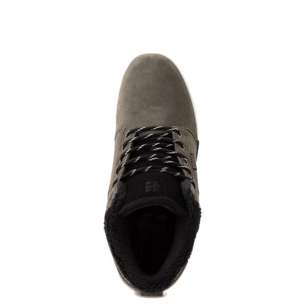 alternate view Mens etnies Jefferson Mid Skate Shoe - OliveALT2