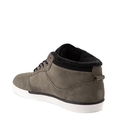 Alternate view of Mens etnies Jefferson Mid Skate Shoe - Olive
