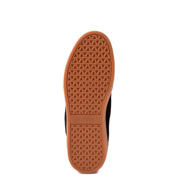 alternate view Mens etnies Jefferson Mid Skate Shoe - Black / GumALT3