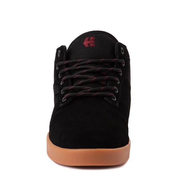 alternate view Mens etnies Jefferson Mid Skate Shoe - Black / GumALT4