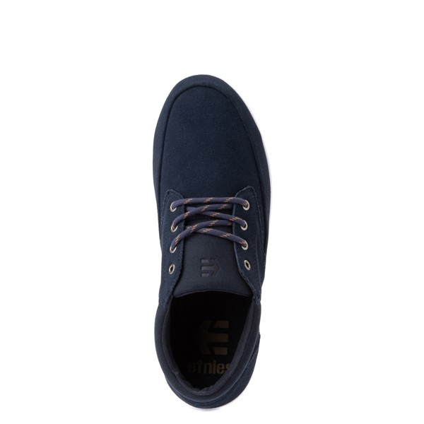 alternate view Mens etnies Macallan Skate Shoe - NavyALT2