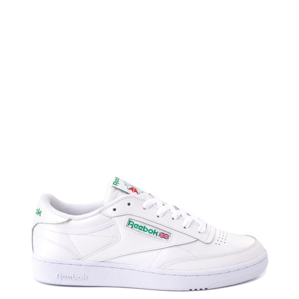Main view of Mens Reebok Club C 85 Athletic Shoe - White / Green