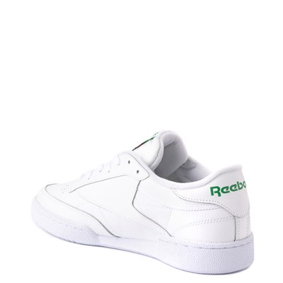 Alternate view of Mens Reebok Club C 85 Athletic Shoe - White / Green
