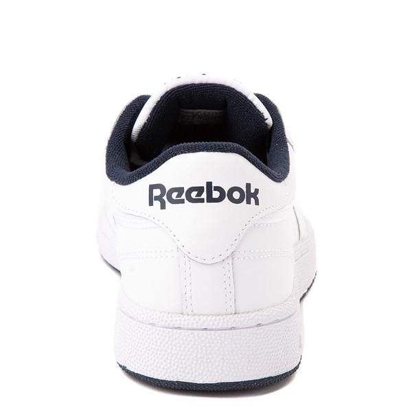 alternate view Mens Reebok Club C 85 Athletic Shoe - White / NavyALT4