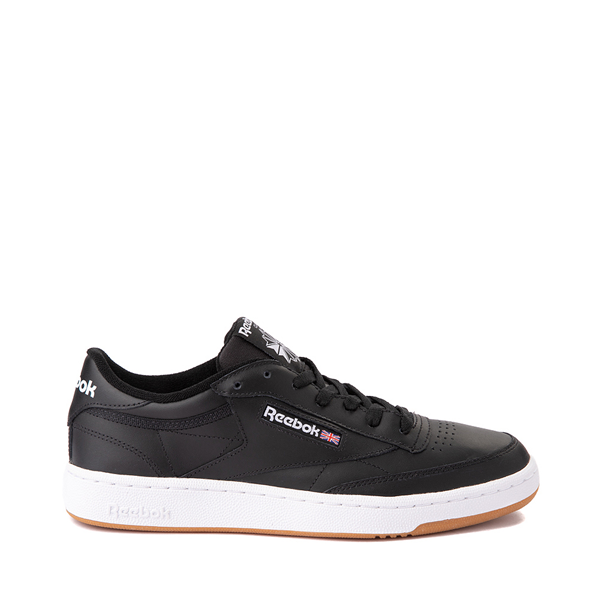 Mens Reebok Club C 85 Athletic Shoe - Black / Gum
